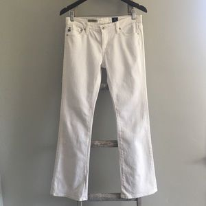 Adriano Goldshmied White Angelina Petite Jeans